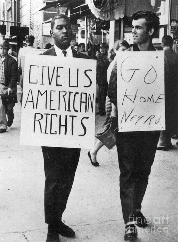 "a look at the segregation and the civil rights movement The boston's 1960s civil rights movement: a look back collection was created in the spirit of the african symbol sankofa that in the akan language of ghana is loosely translated as ""go back to fetch it,"" meaning to learn from one's past."